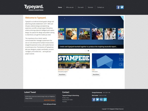 typeyard home page